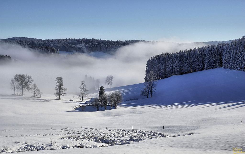 Einsiedel im Winter