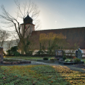 Friedhof mit Kapelle